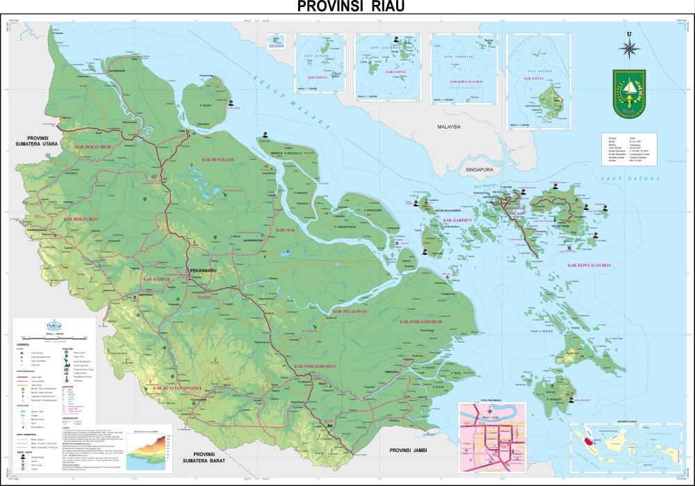 Download: Map of 33 Provinces in Indonesia (4/6)
