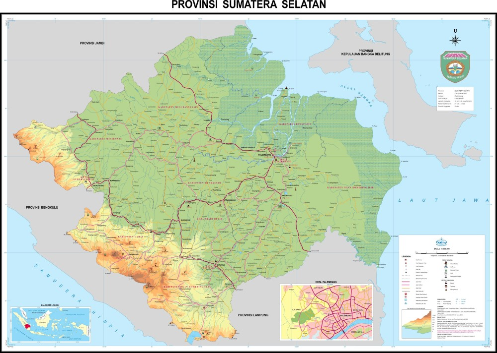 Download: Map of 33 Provinces in Indonesia (6/6)