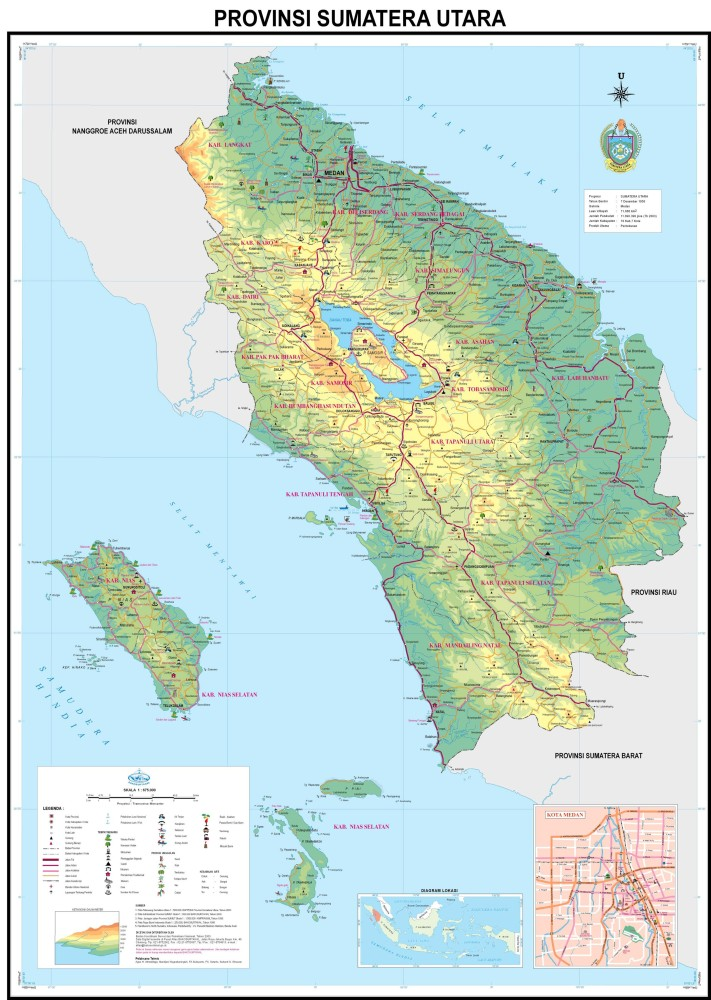 Download: Map of 33 Provinces in Indonesia (2/6)