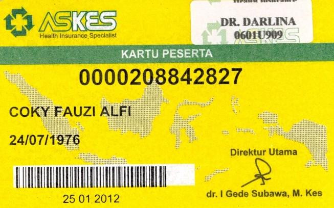 Daftar Provider PT. ASKES di Palembang (1/2)